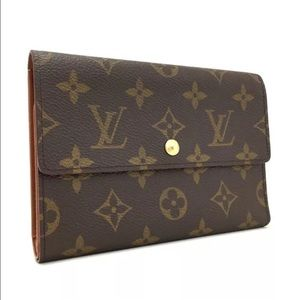 Vintage Louis Vuitton Porte Tressor Wallet